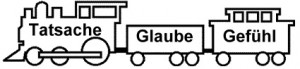 Glaube - Lock mit Wagons