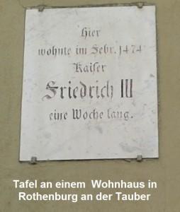 Mensch - Hier wohnte einmal Gott, Rothenburg odT