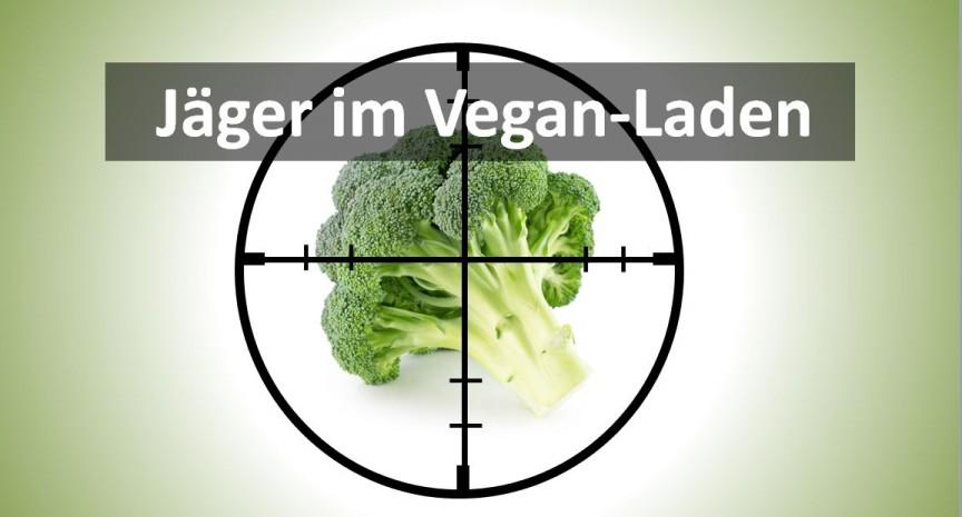 Jäger im Vegan-Laden 3